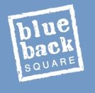 Blue Back Square logo