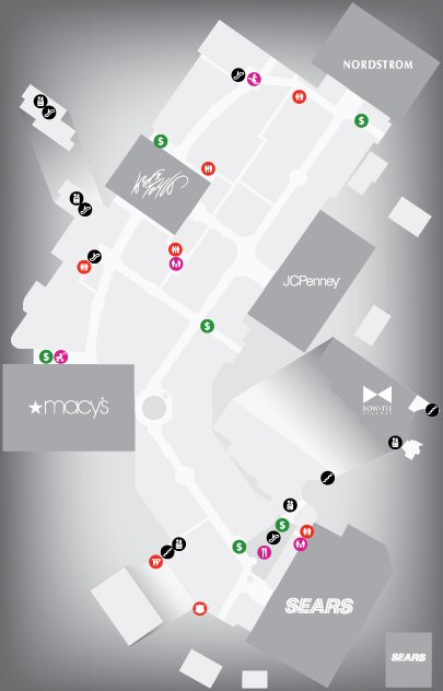 Westfield Annapolis Shopping Centre map
