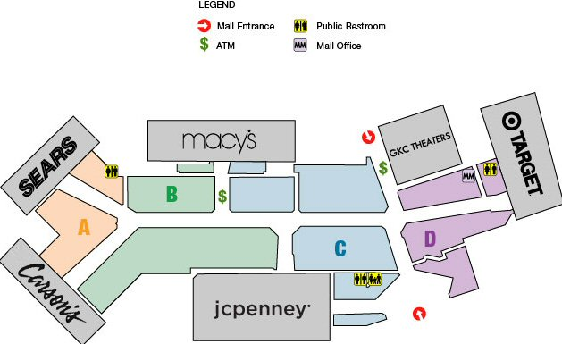 Birchwood Mall map