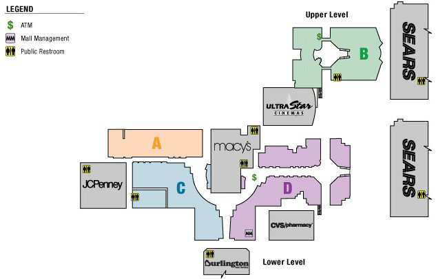 Chula Vista Center map