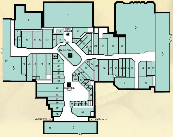 Eastdale Mall map