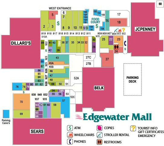 Edgewater Mall In Biloxi Ms