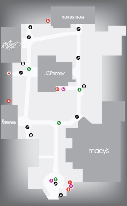 Westfield Garden State Plaza Shopping Centre map