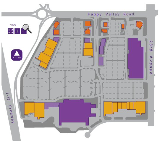 Happy Valley Towne Center map