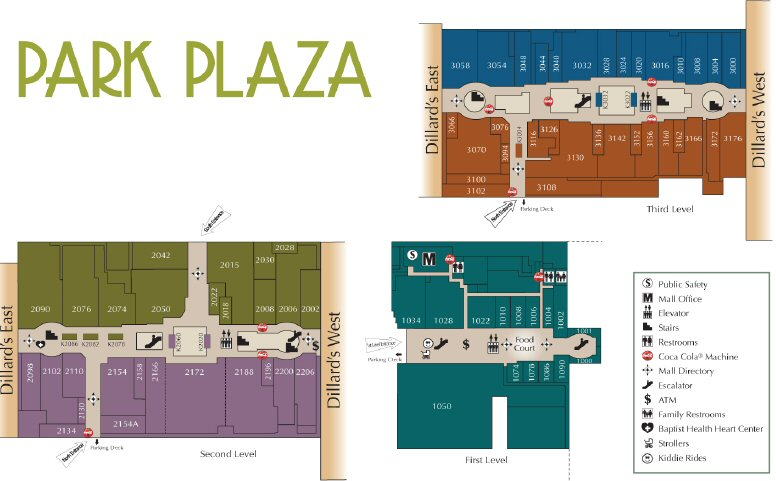 Park Plaza Mall map