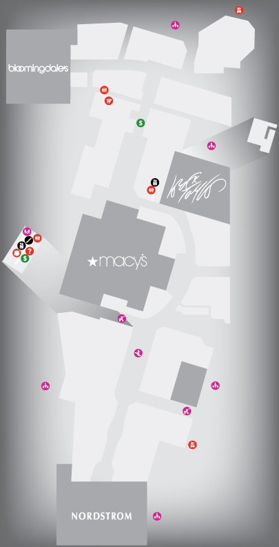 Westfield Old Orchard Shopping Centre map