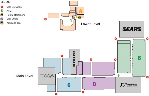 Southland Mall map