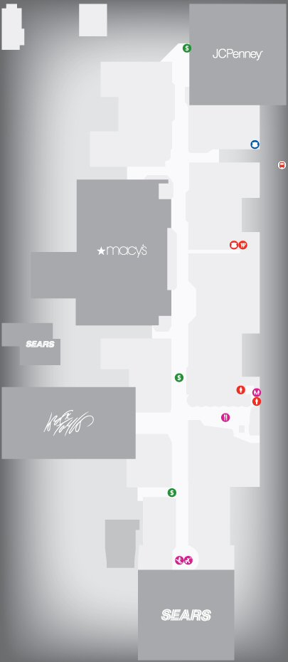 Westfield South Shore Shopping Centre map